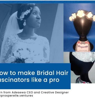 How to Make Bridal Hair Fascinators Like a Pro
